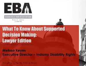 EBA - what to know about supported decision making